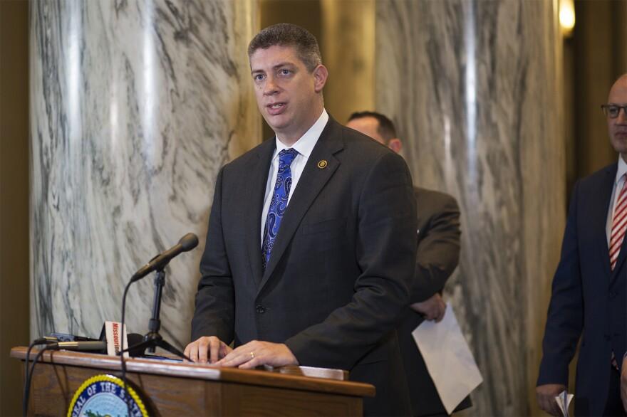 Sen. Bill Eigel, R-Weldon Spring, is a member of the six-person Conservative Caucus.