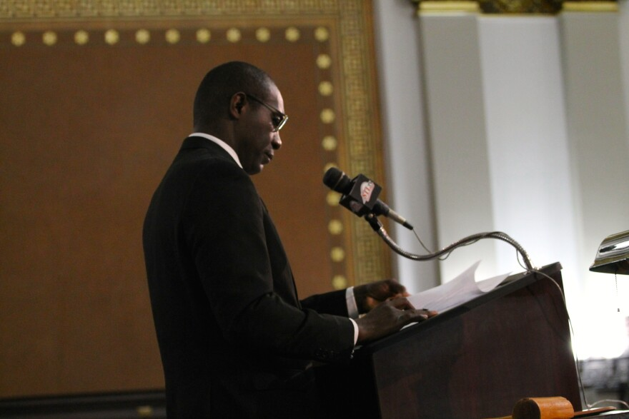 St. Louis Board of Aldermen President Lewis Reed supported Green in the Democratic primary. But he doesn't support getting rid of Democratic and Republican primaries for city offices.