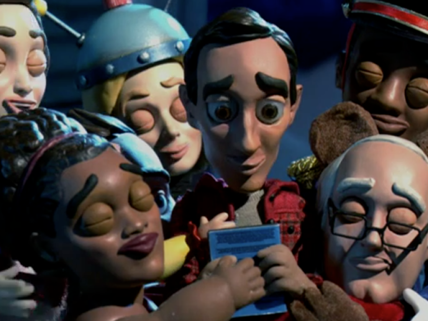 """""""Abed's Uncontrollable Christmas"""" is an absurdist sendup to Rankin/Bass Productions stop-motion, made-for-TV films."""