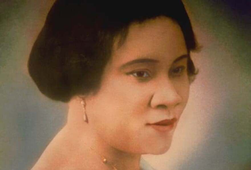 Madam C.J. Walker was born Sarah Breedlove. She married at 14, then came to St. Louis at 20, after her first husband died, to join her brothers who worked as barbers.