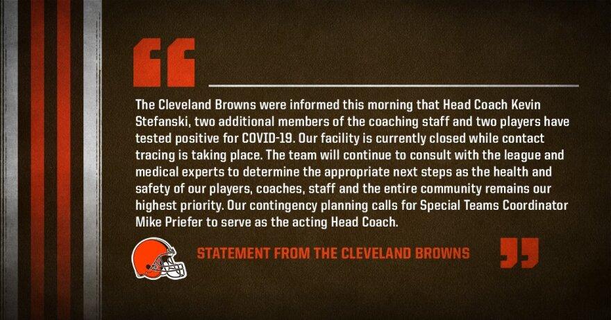 Browns statement