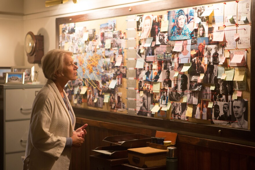 """Helen Mirren says that in addition to being """"an incredible nail biter,"""" her new film <em>Eye in the Sky </em>raises fundamental moral questions without taking sides."""