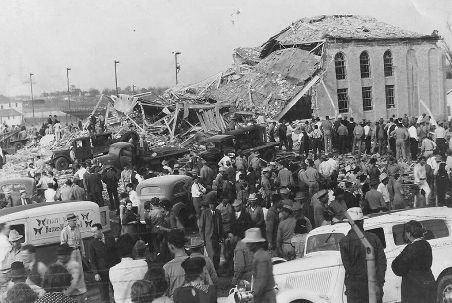 The New London School Explosion of March 18, 1937, killed hundreds of students in the East Texas town.