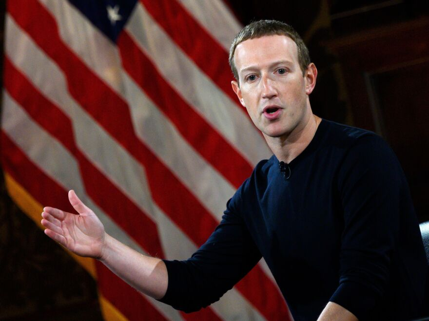 Facebook CEO Mark Zuckerberg is under pressure from employees who say President Trump is violating the social network's rules against inciting violence.