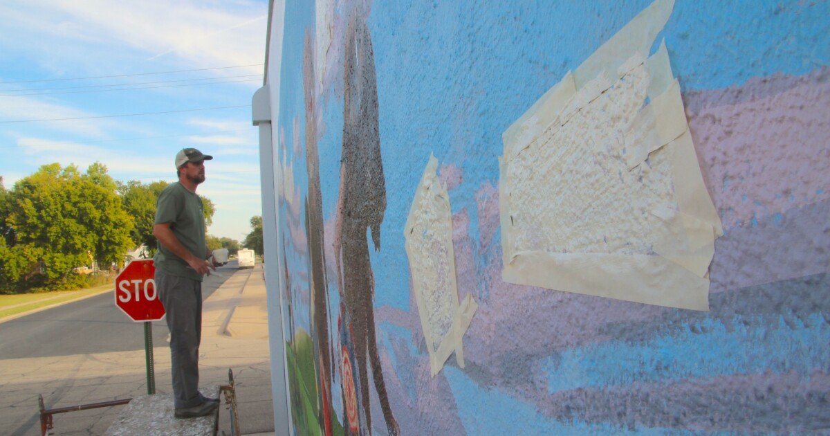 Check out how these rural murals transform everyday Kansas into art