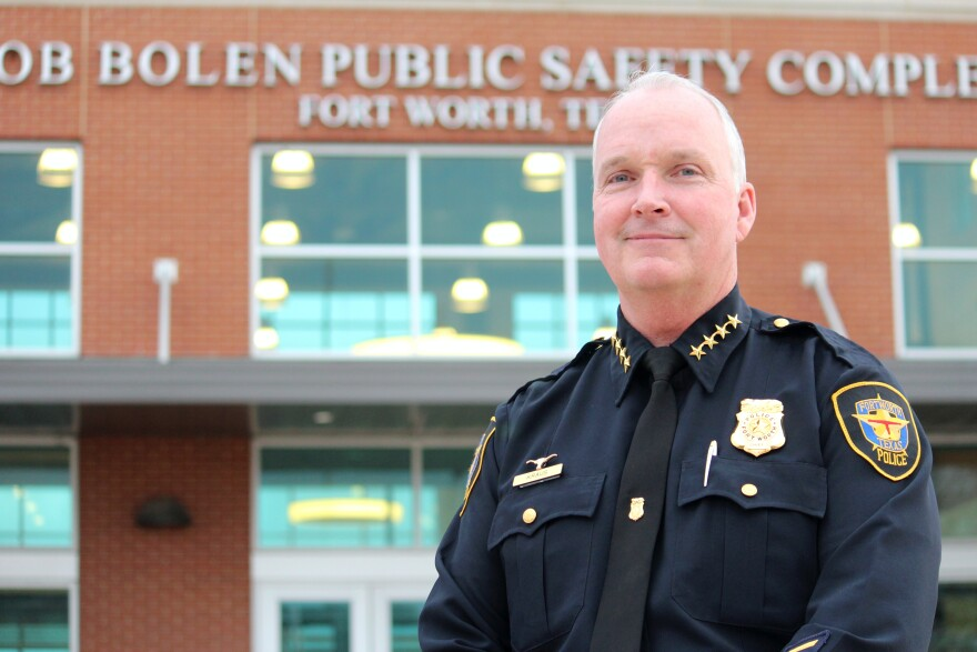 Fort Worth Police Chief Ed Kraus