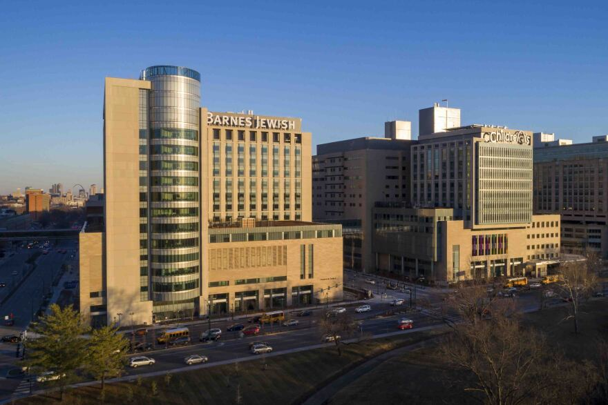 BJC Healthcare is completing two new medical towers.