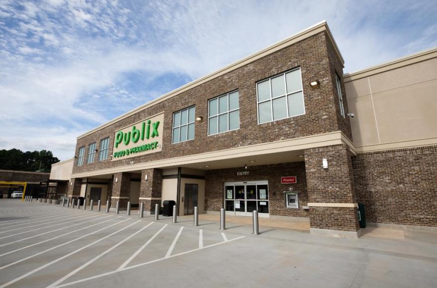 A Publix store.