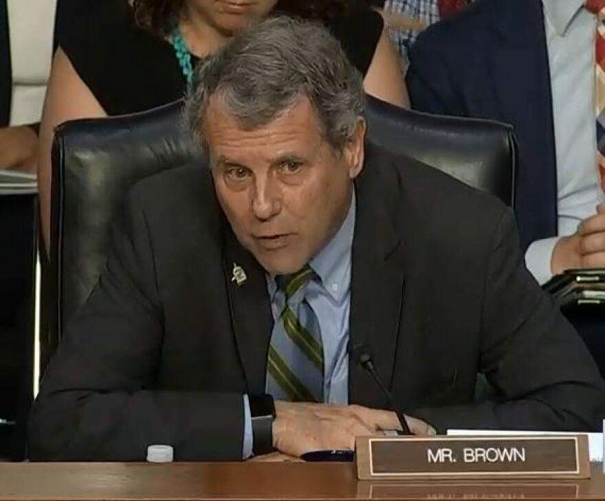 A photo of Senator Sherrod Brown.