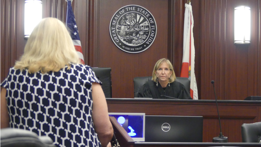 Duval County Magistrate Dianne Misiak conducts Marchman Act hearings each Thursday at the Duval County Courthouse.