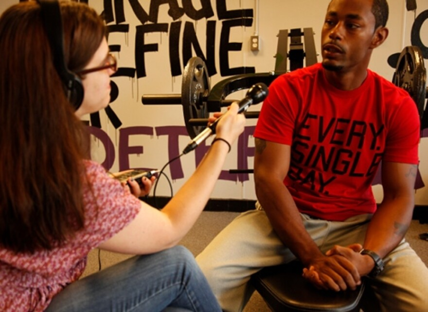 WYSO's Juliet Fromholt interview Jason Shelton in Trotwood