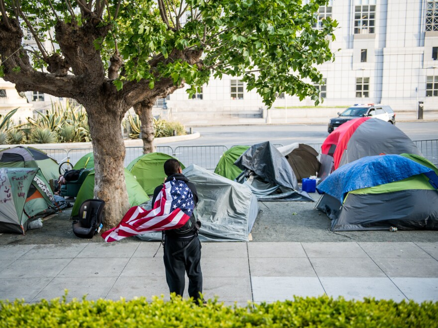 For years, San Francisco police have ordered tents removed from city streets, even at times slashing them with knives themselves. Public Works employees have tossed the ever-ubiquitous nylon homes of desperate people into dump trucks on a weekly basis.