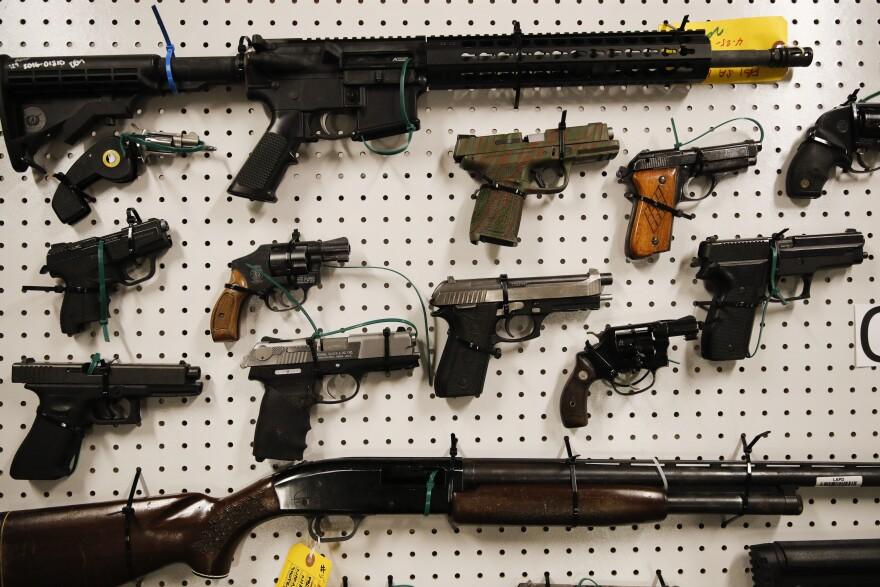 Guns, parkland