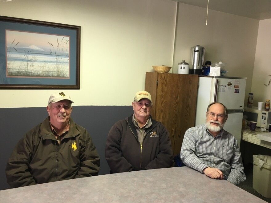 G2 members Chuck Frederick, Doug Frederick, and Bruce Heimbuck.