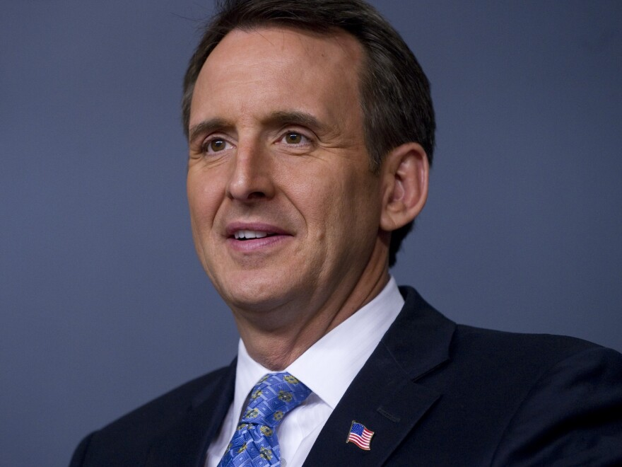 Former Minnesota Gov. Tim Pawlenty spoke May 2011 at the Cato Institute in Washington, D.C.