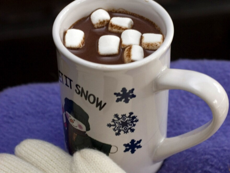 George Washington would probably approve of hot chocolate on a cold winter's day.