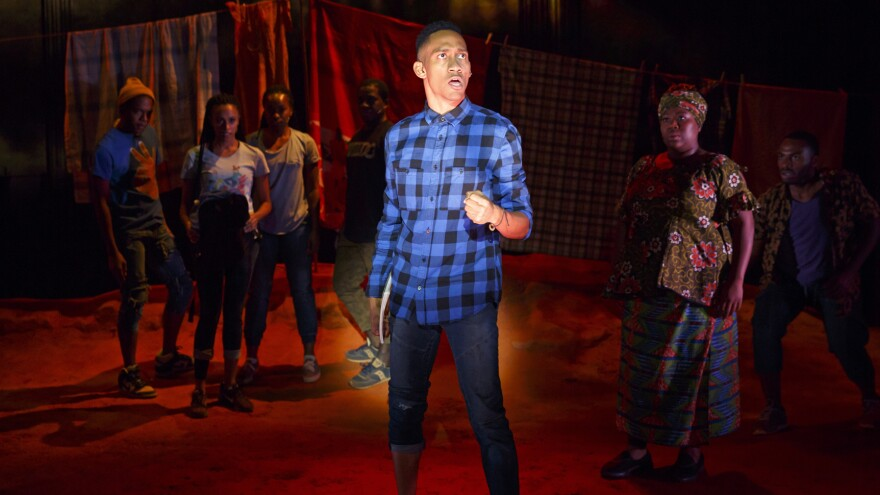 Griffin Matthews stars in <em>Invisible Thread</em>, a semi-autobiographical musical he co-wrote with his partner, Matt Gould.