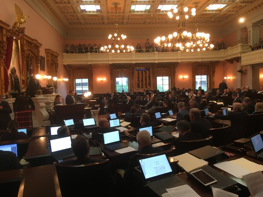 photo of Ohio House chamber