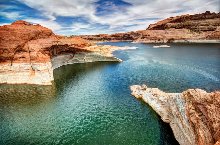 Photo of Lake Powell.