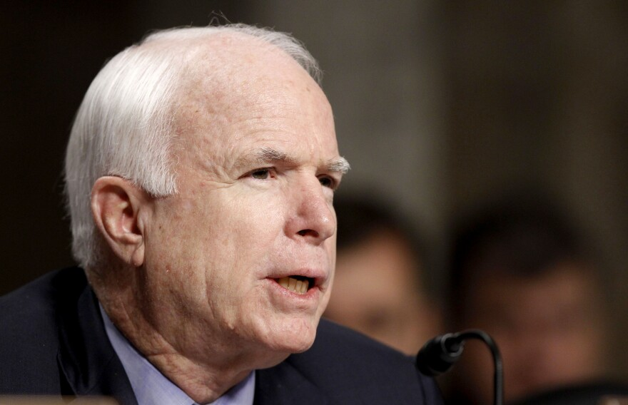 Sen. John McCain, a Republican from Arizona.
