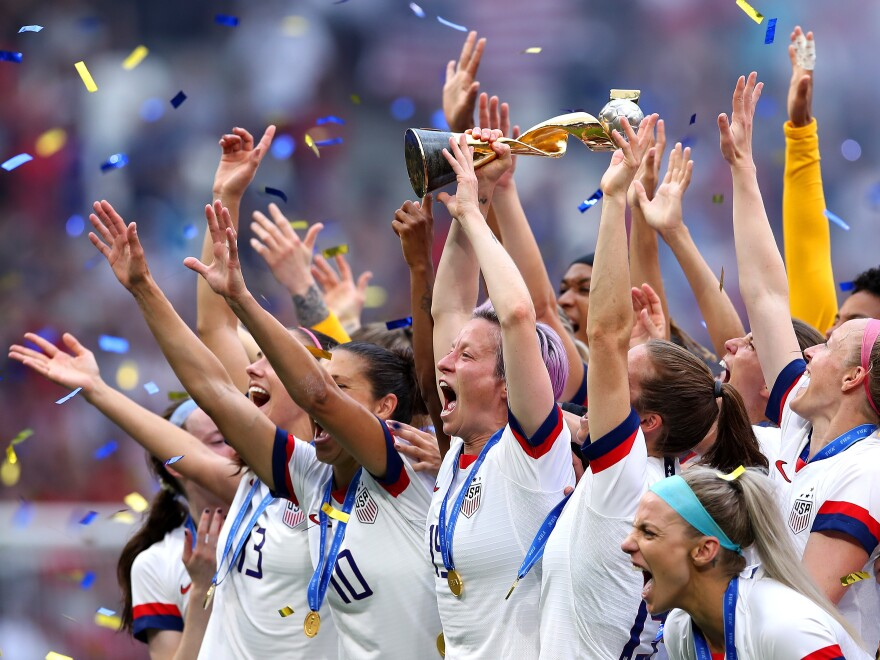 Megan Rapinoe and the U.S. squad won a lot of fans on their way to winning the Women's World Cup on Sunday in Lyon, France. For the sport to keep growing, that support needs to continue long after the ticker tape lands.