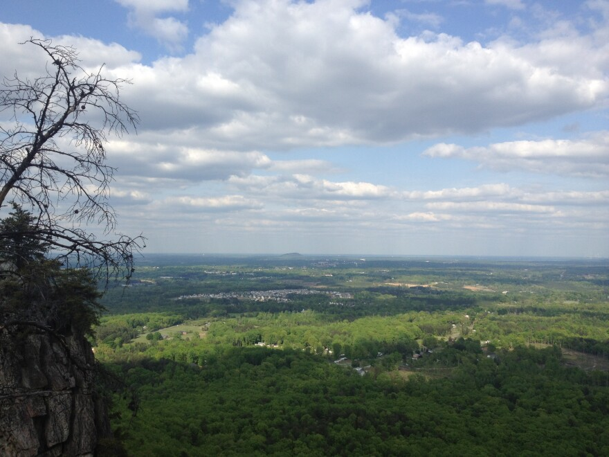 A man is in stable condition after falling 70 feet while hiking Crowders Mountain.