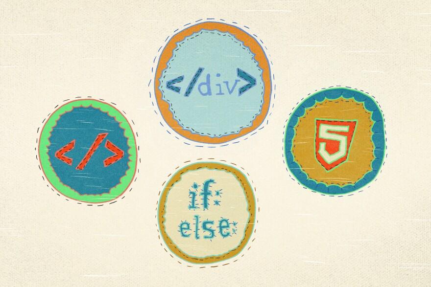 Merit badges for coders