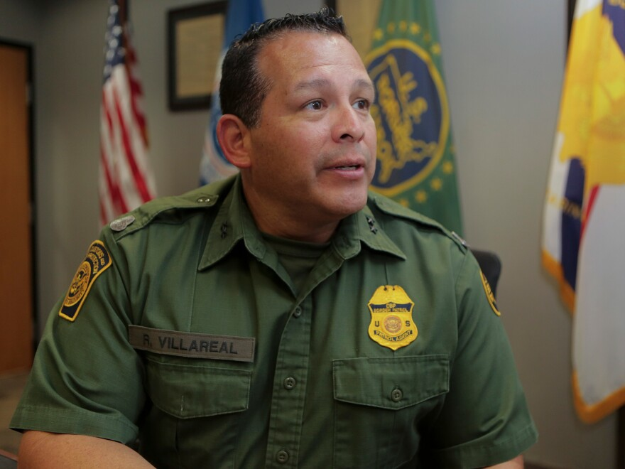 """""""We want a better barrier. One that is hard to scale, hard to penetrate and hard to tunnel under,"""" says Roy Villareal, chief of the San Diego Border Patrol sector."""