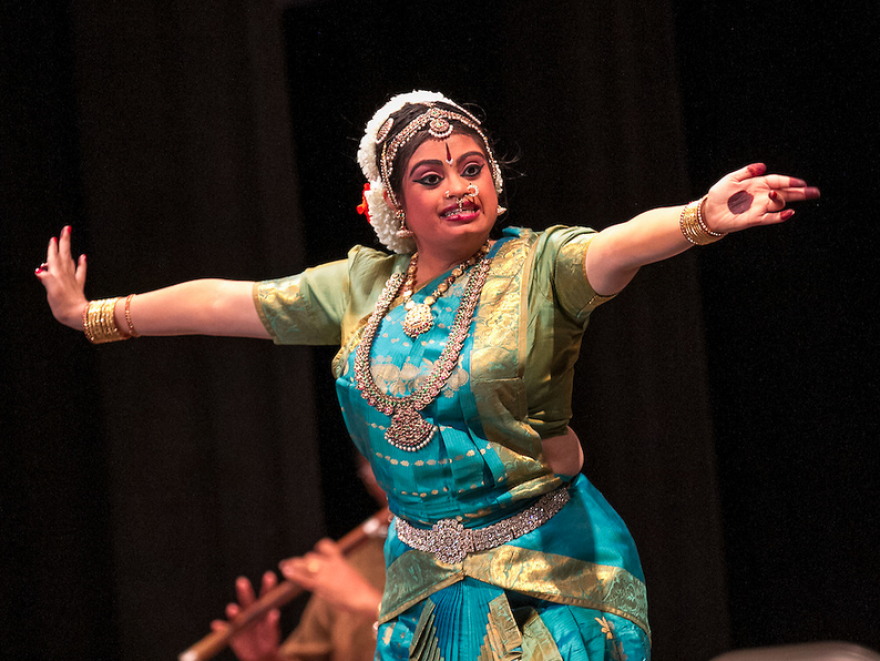 Hema Ramaswamy, a young Indian-American woman with Down syndrome, performs her <em>arangetram</em>, the public presentation of <em>bharata natyam</em>, a classical South Indian dance form.