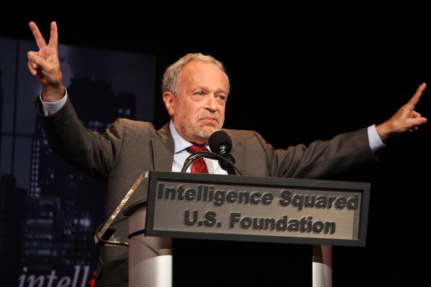 Robert Reich argues against the motion.