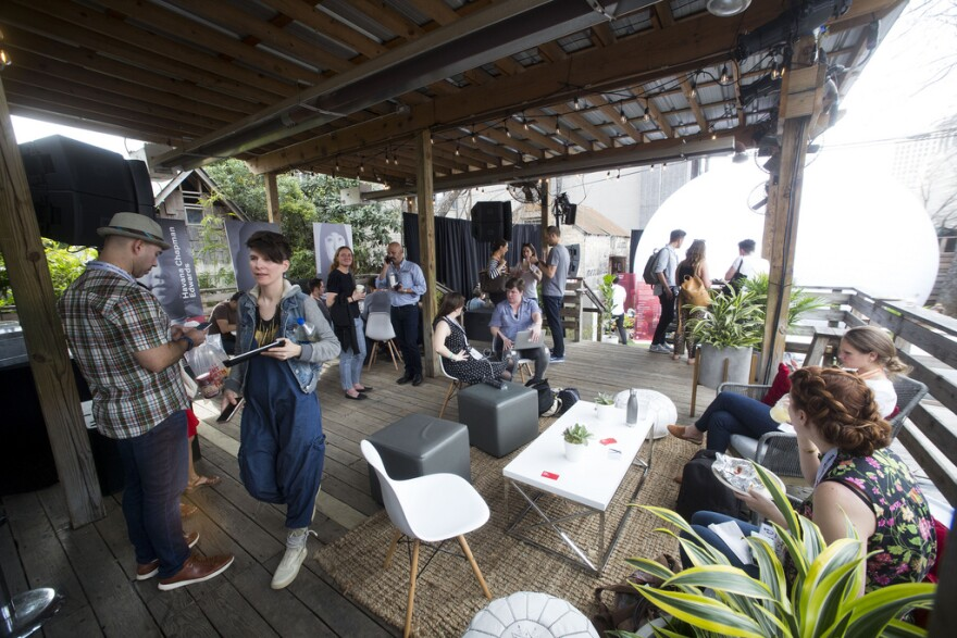 Michelle Greathouse, who was in charge of the takeover, said Lululemon wanted to create a space for festivalgoers to get away from the chaos of SXSW and reconnect with themselves.
