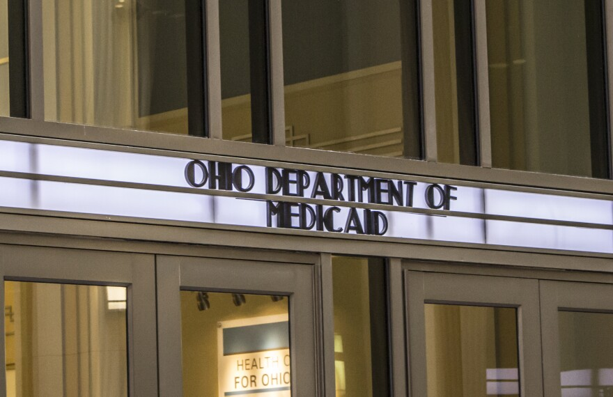 a photo of the exterior of Ohio Department of Medicaid