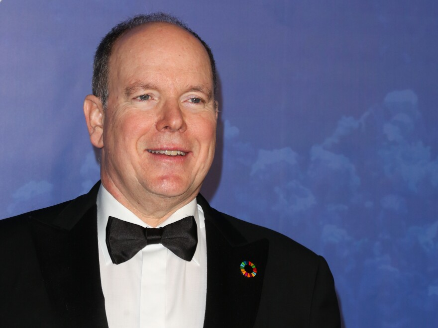Prince Albert II, pictured in February, will continue to work from his private offices and remain in contact with members of the government, despite his diagnosis.