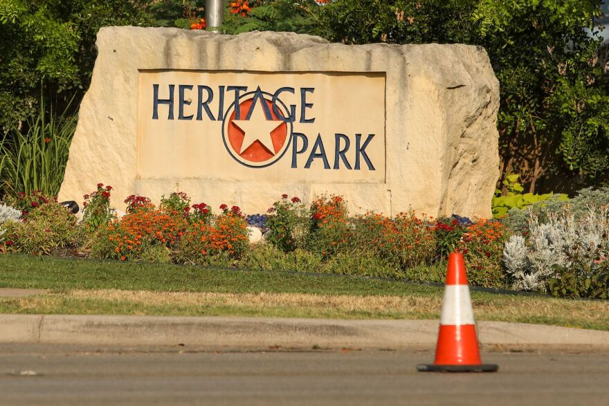 Sunday's incident took place in Cedar Park's Heritage Park subdivision.