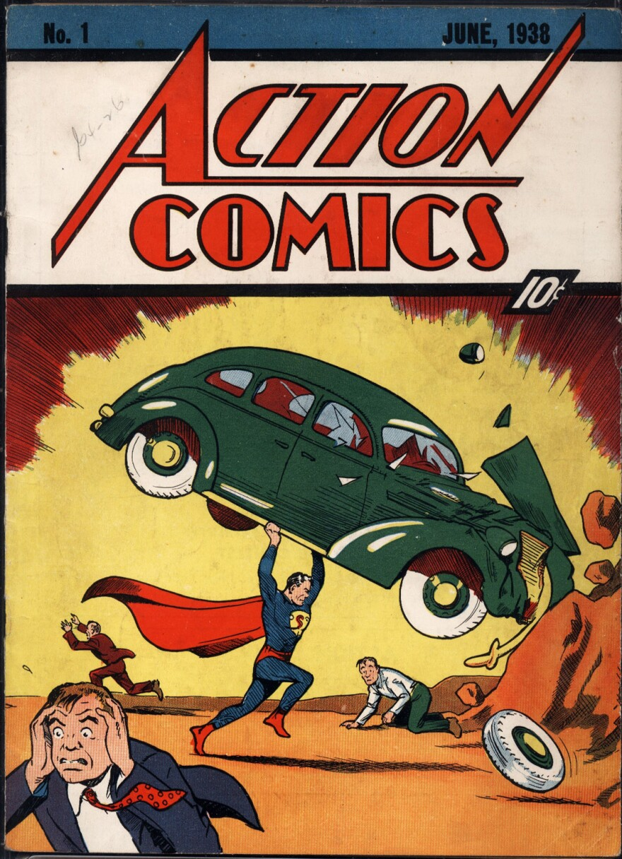 Superman first appeared in the June 1938 edition of Action Comics.