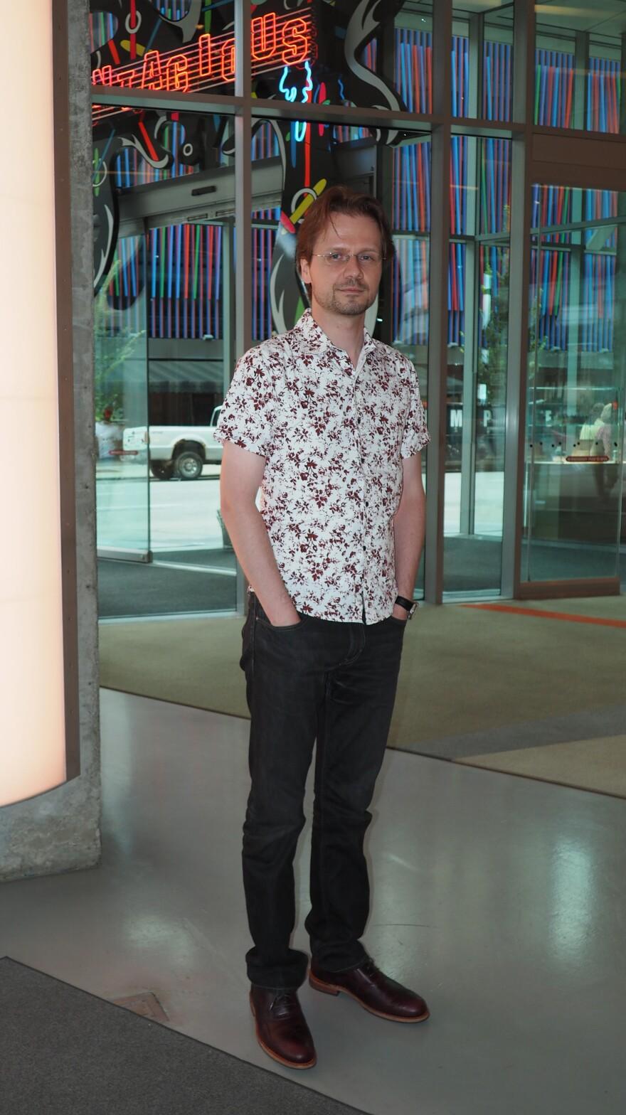Steven Matijcio, Curator of the Cincinnati Contemporary Arts Center