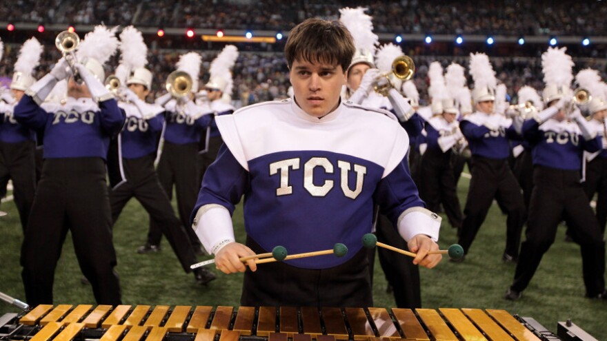 <p>With its jump to the Big 12 conference, Texas Christian University continues a game of musical chairs in college sports.</p>