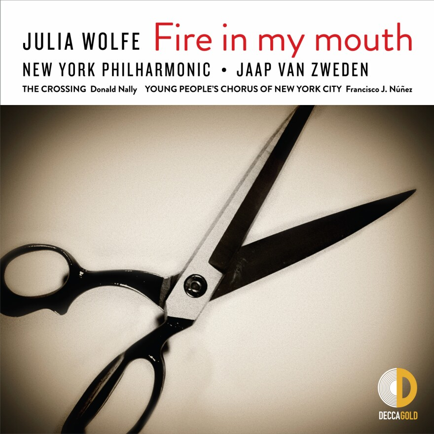 Julia Wolfe's latest look at American labor is titled <em>Fire in My Mouth</em>.