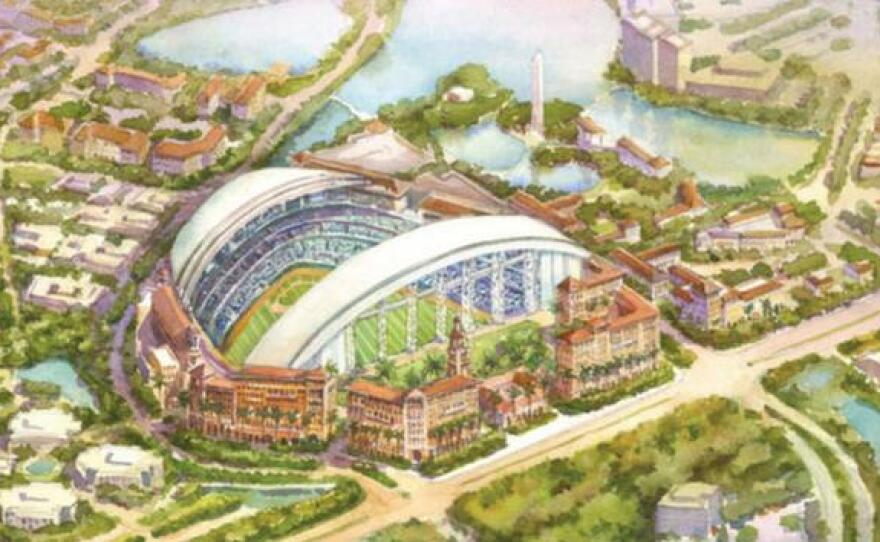 new ballpark for tampa bay rays proposed for carillon area of st petersburg wusf public media new ballpark for tampa bay rays