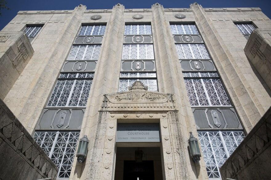 The Heman Marion Sweatt Travis County Court House in downtown Austin.
