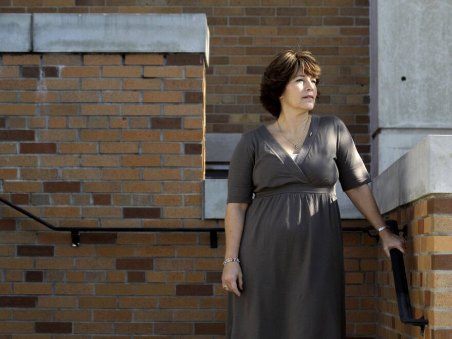 <p>Jackie White of Branchville, N.J., is a breast cancer survivor and a DES daughter who lives in Centerburg, Ohio. She says she had a misshaped uterus and reproductive problems.</p>