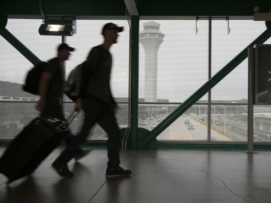 Restaurant workers at Chicago's O'Hare International Airport went on strike on Thursday. Employees of food service operator HMSHost have been working under an expired contact since August.