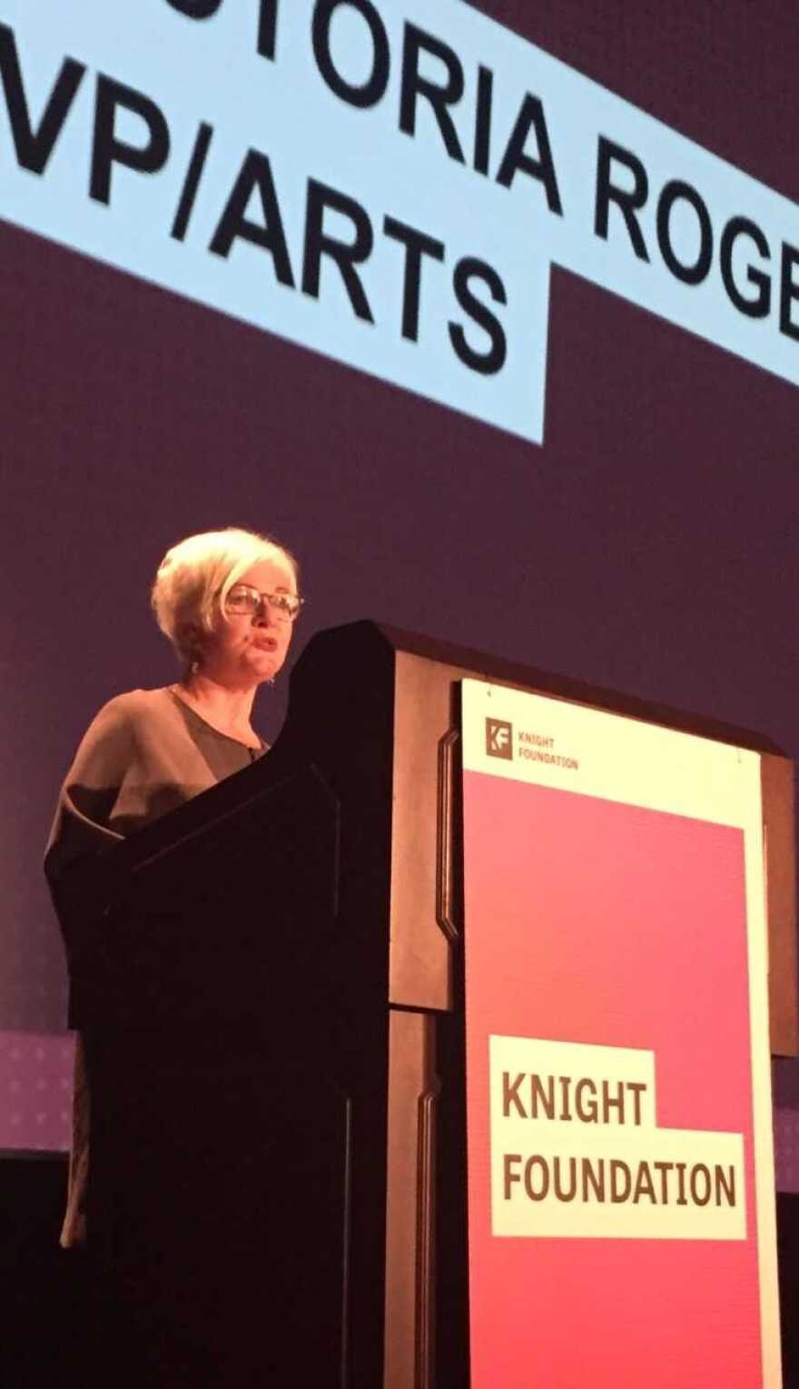 Victoria Rogers, VP Knight Foundation