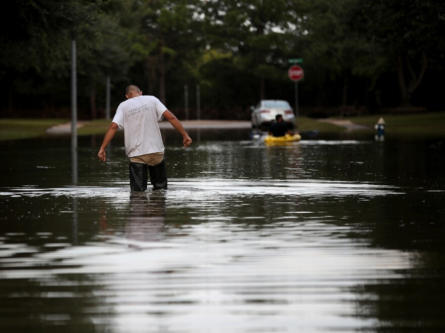 A week after Hurricane Harvey swept through southern Texas in August, the streets of Katy, Texas, were still flooded. People in Puerto Rico and the Southeastern U.S. who were affected by the hurricanes are among those who may have extra time to enroll for 2018 health plans.