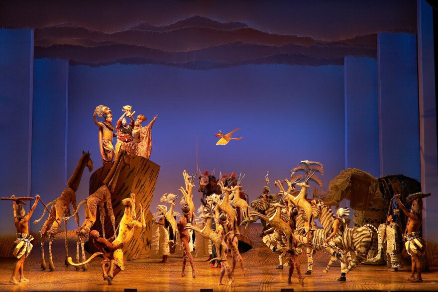 "Director Julie Taymor says <em>The Lion King</em> musical is ""doing what theater originally was always meant to do, which is, besides entertain, to heal."""