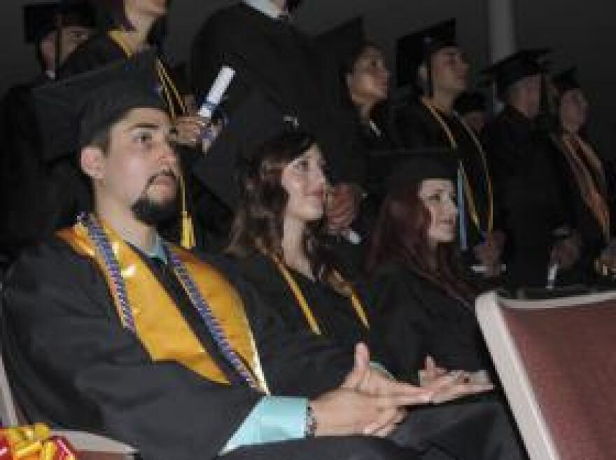 After surviving several improved bomb blasts in Afghanistan, Richard Uranga earned his Bachelor's Degree in social work and is seeking a Master's Degree.