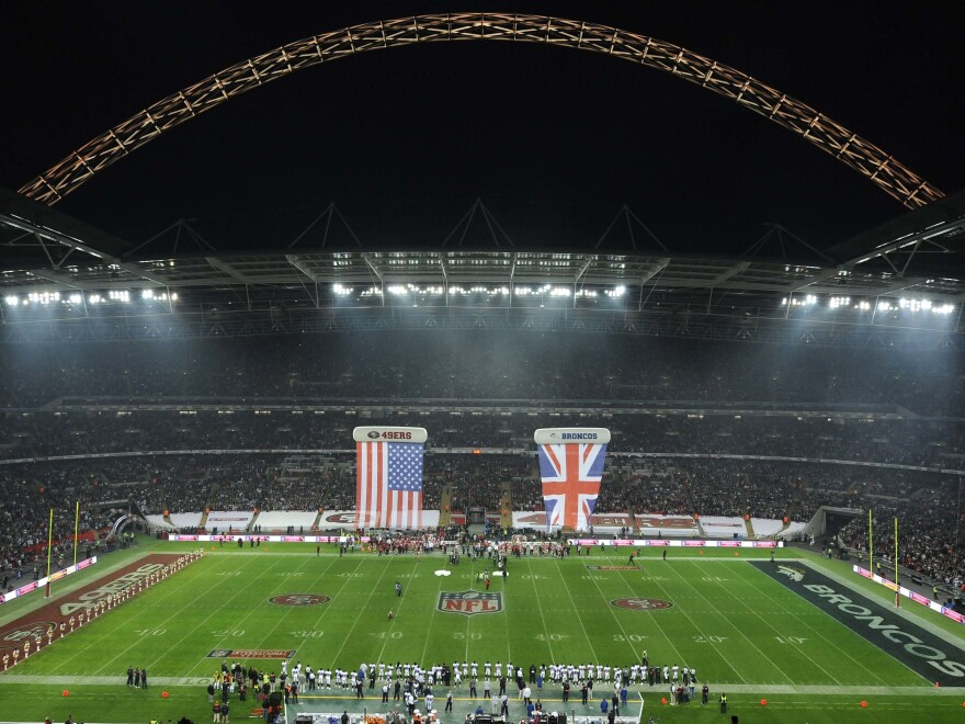 The Jacksonville Jaguars, who have hosted a game each season in the United Kingdom since 2013, would have been the first NFL franchise to play back-to-back games overseas.