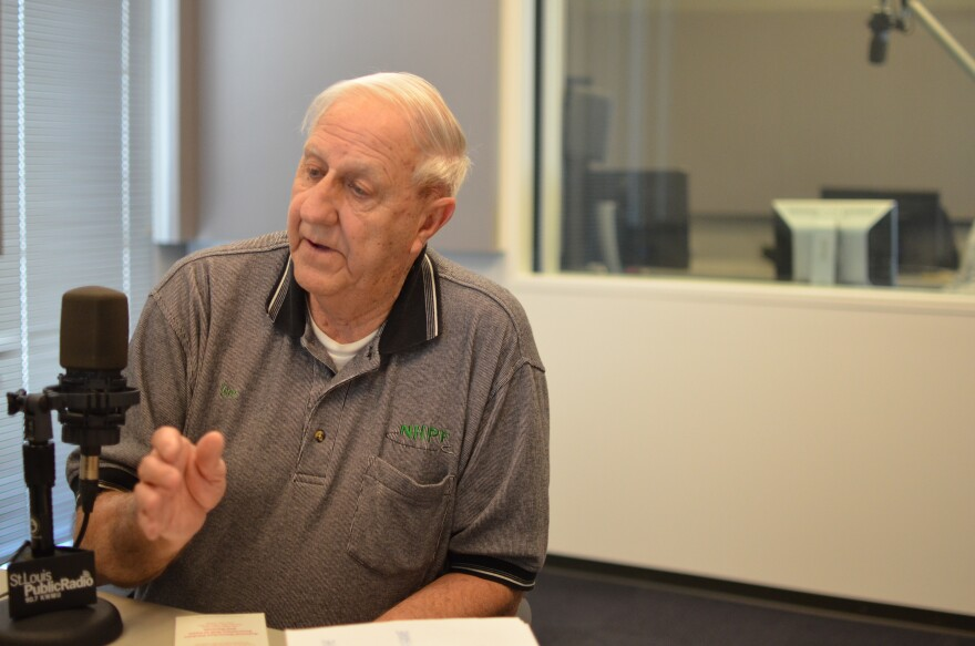 Joe Faron, the vice president of the National Horseshoe Pitchers Foundation.