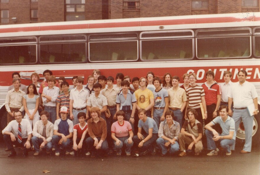 Berzsenyi took a busload of students, including Jimmy Wilson and Ferrell Wheeler, to the American Regions Mathematics League in Texas in 1981 and 1982.