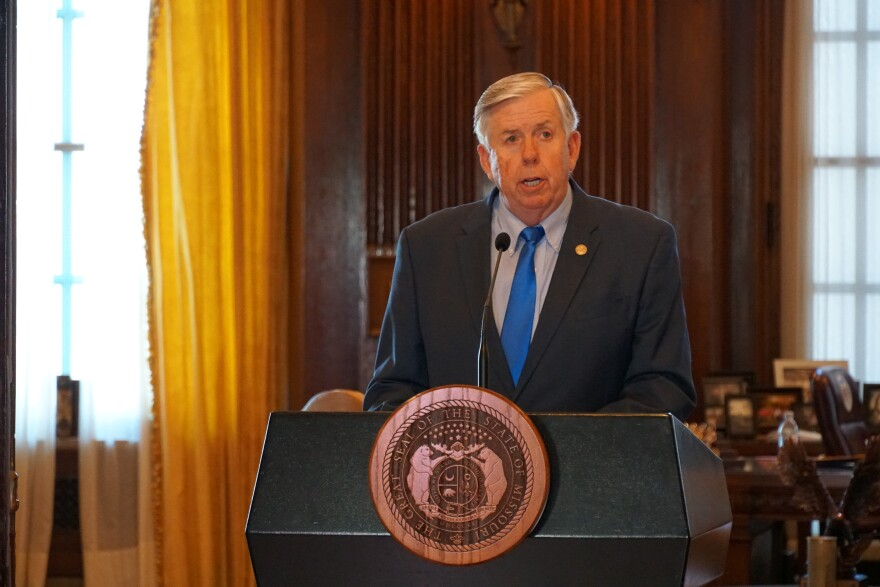 Gov. Mike Parson on Monday announced an additional $209 million in planned spending cuts for the month of June.